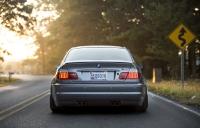 Лип-спойлер для BMW 3 (E46) Coupe