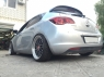 Спойлер Irmscher для Opel Astra J HB 5D