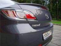 Cпойлер для Mazda 6 New