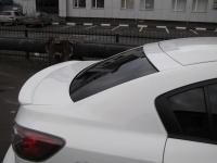 Козырек на заднее стекло (широкий) для Mazda 3 BL Sedan
