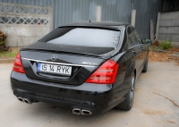 Лип-спойлер для Mercedes-Benz S-Class (W221)