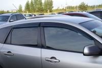 Дефлекторы боковых стекол для Mazda 3 Hatchback