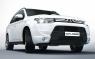 Накладки переднего бампера Samurai для Mitsubishi Outlander III
