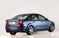 Накладка MS Design на задний бампер для Ford Focus 2 Sedan