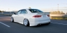 Накладка на задний бампер Mugen для Honda Accord 7 (Дорестайлинг)
