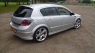 Накладка на задний бампер OPC Line для Opel Astra H 5D