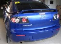 Спойлер высокий для Mazda 3 Sedan