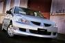 Накладка EGR на передний бампер Mitsubishi Lancer IX